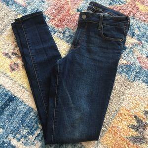 Old Navy Rockstar Dark Blue Denim Jeans